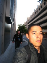 Daniel and Magnus on the way to the keynote in a high tempo.jpg