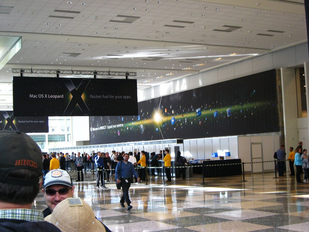 Inside Moscone. Keynote day.-2.jpg