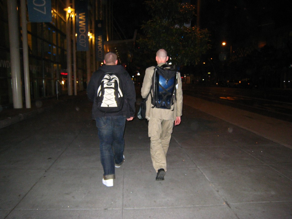 Magnus and Karl-König walking back to the Hotel at midnight-3.jpg