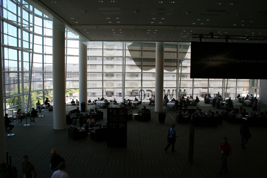 A fragement of the 2nd floor in Moscone West.jpg