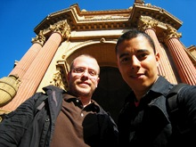 Magnus & Daniel at Palace of Fine Arts