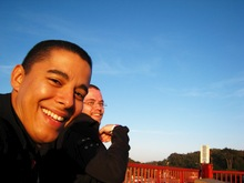 Daniel & Magnus, Golden Gate Bridge