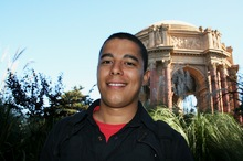 Daniel at Palace of Fine Arts