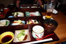 Bento Box Lunch at Kikko
