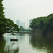 Tokyo Tower visible from Imperial Garden