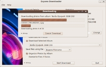 Expono Downloader on Linux