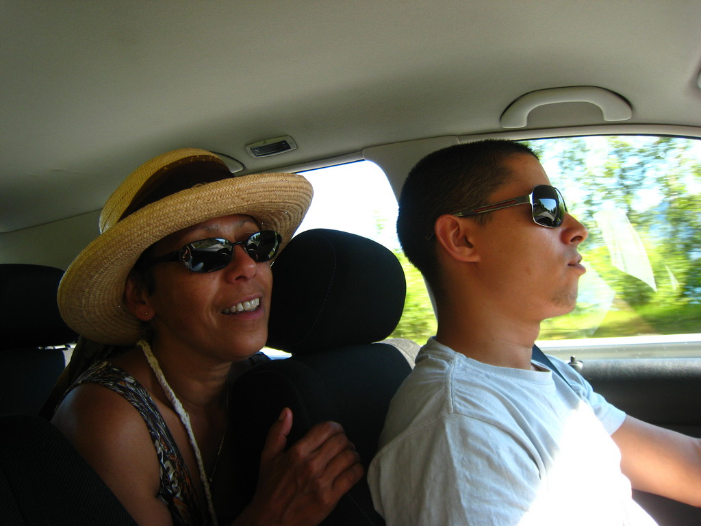On the road  4