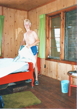 Installed in one of three fabolous cabins.jpg