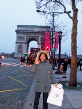 L'arc de Triumph & new shoes