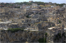 Matera Sassi from Belvedere