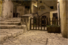 Late Evening in Matera