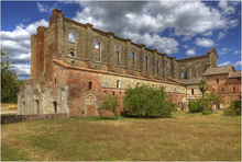 San Galgano, the church with no roof I