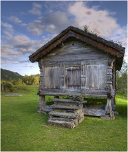 A old building from Eidsborg Bugdetun