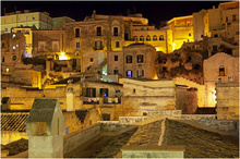 Night in Matera Sassi