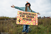 Scarecrow for Green Power