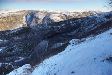 Alta Canyon, Northern End