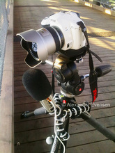 Pentax K-x filming and Zoom H2 recoridng sound