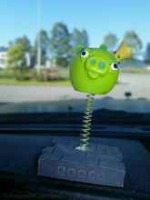 An Angry Birds Pig in my Dash