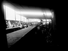 Kigali vegetable market in black and white