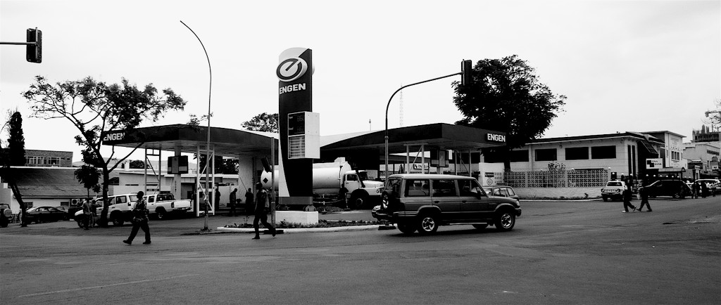 Petrol station in Kigali