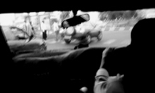 Heading home in a taxi. Mucho mobile tweeting today.