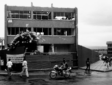 Old post office in central Kigali