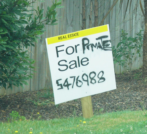Private Sale Sign