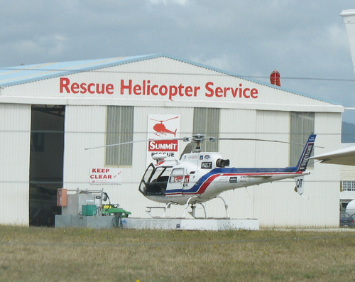 Summit Rescue Chopper at home base