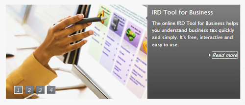 IRD Tool for Business