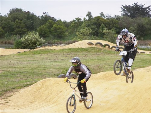 BMX Track at Tahunanui Beach