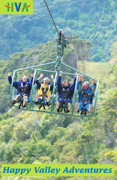 The Worlds longest flying fox adventure - in Nelson!