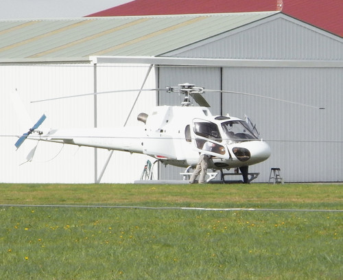 Eurocopter Squirrel preparing