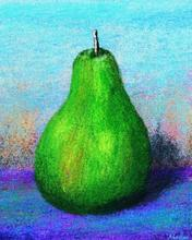 Pastel Pear with TwistedBrush