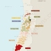 Chile with situation of important wine producers