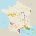 France with the Roussillon region highlighted