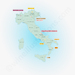 Most important areas for rosé wine in Italy