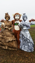 Jumunjy Monkey and Statues Masked Ball Porthleven
