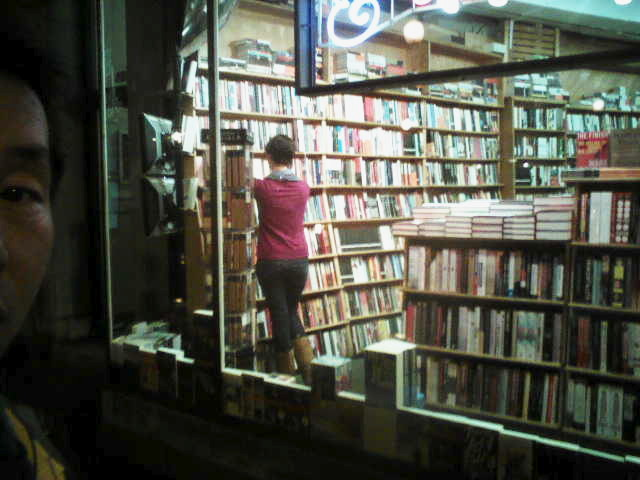 A Beautiful Lady in Book Store.jpg