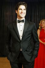 Actor Darren Criss arrives on the red carpet at the White House Correspondents' Association dinner in Washington