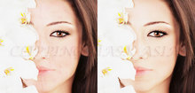 Image Beauty Retouching of Clipping mask asia