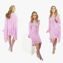 Light Pink Tunic Dress