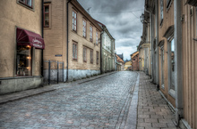 Old town in Eskilstuna