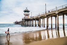 Surf's Up at Huntington Beach