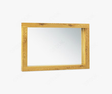 Bentley Designs Lyon Oak Large Landscape Mirror