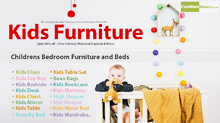 Sale!!! Get Big Discount on Kids Furniture | Beds & Mattress | Free delivery*