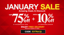January Furniture Deals 2019, Extra 10% Discount on Sale