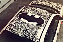 Sharpie Art - Batman