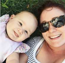 New Mum Sarah posted on the Qiara Page