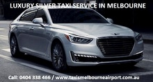 Melbourne airport taxi - Airport taxi cab.jpg