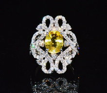 Sapphire Solitaire Ring – Exotic Gold Jewelry
